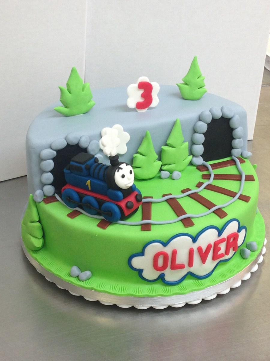 Sensational Thomas And Friends Birthday Cake Luxury Thomas Friends Birthday Funny Birthday Cards Online Overcheapnameinfo