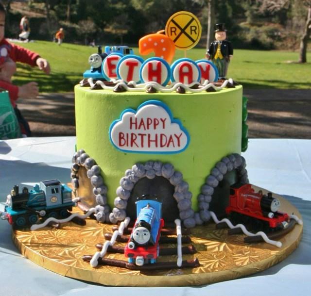 Thomas And Friends Birthday Cake Thomas And Friends Birthday Cake Yelp