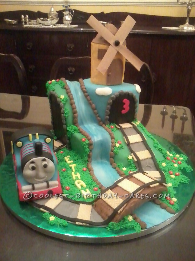 Thomas The Train Birthday Cake Coolest Thomas The Train Birthday Cake