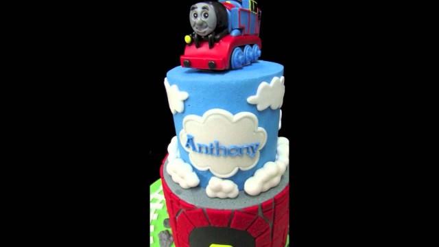 Thomas The Train Birthday Cake Thomas The Train Birthday Cake Youtube
