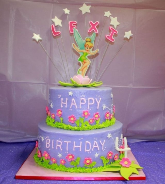 Tinkerbell Birthday Cakes Tinkerbell Birthday Cake Cakecentral