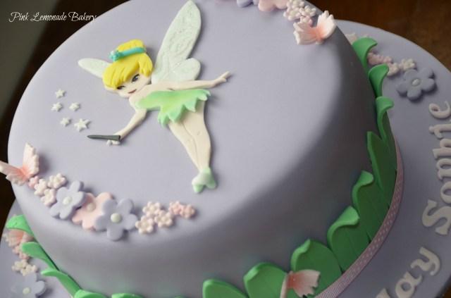 Tinkerbell Birthday Cakes Tinkerbell Birthday Cake Pink Lemonade Bakery