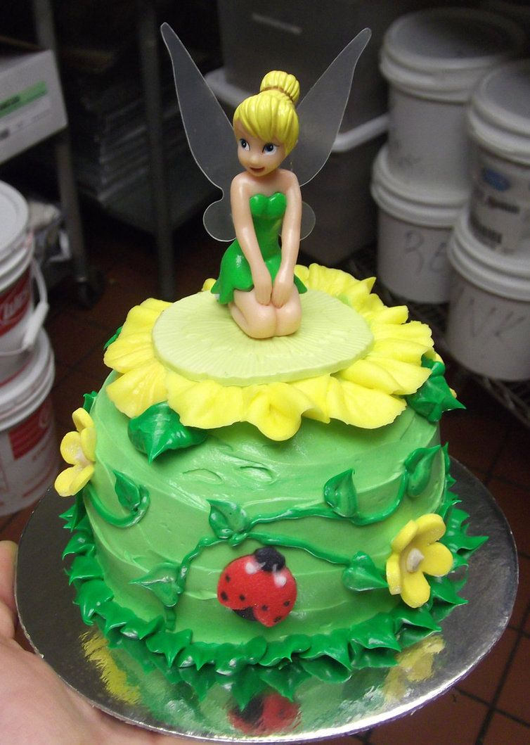 Super Tinkerbell Birthday Cakes Tinkerbell Cake Myas Birthdays Pinterest Personalised Birthday Cards Cominlily Jamesorg