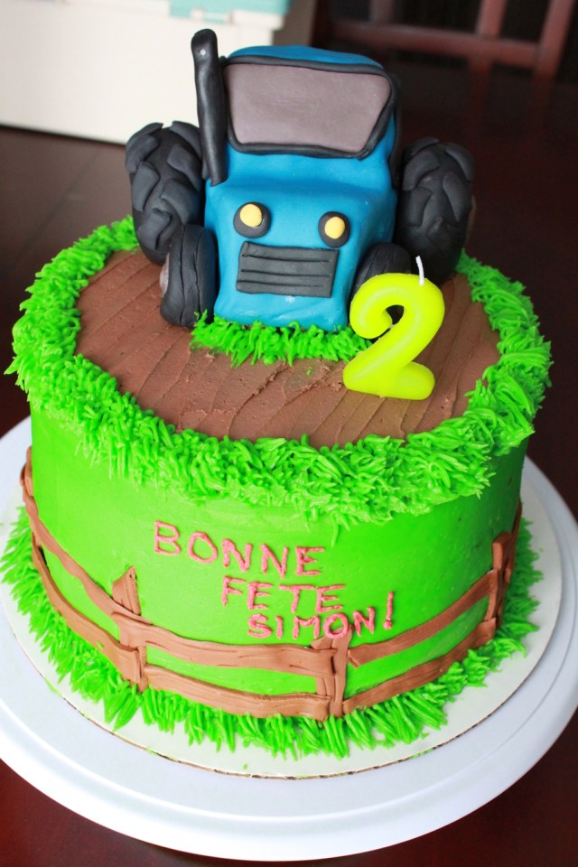 Tractor Birthday Cakes Cake Cakecentral