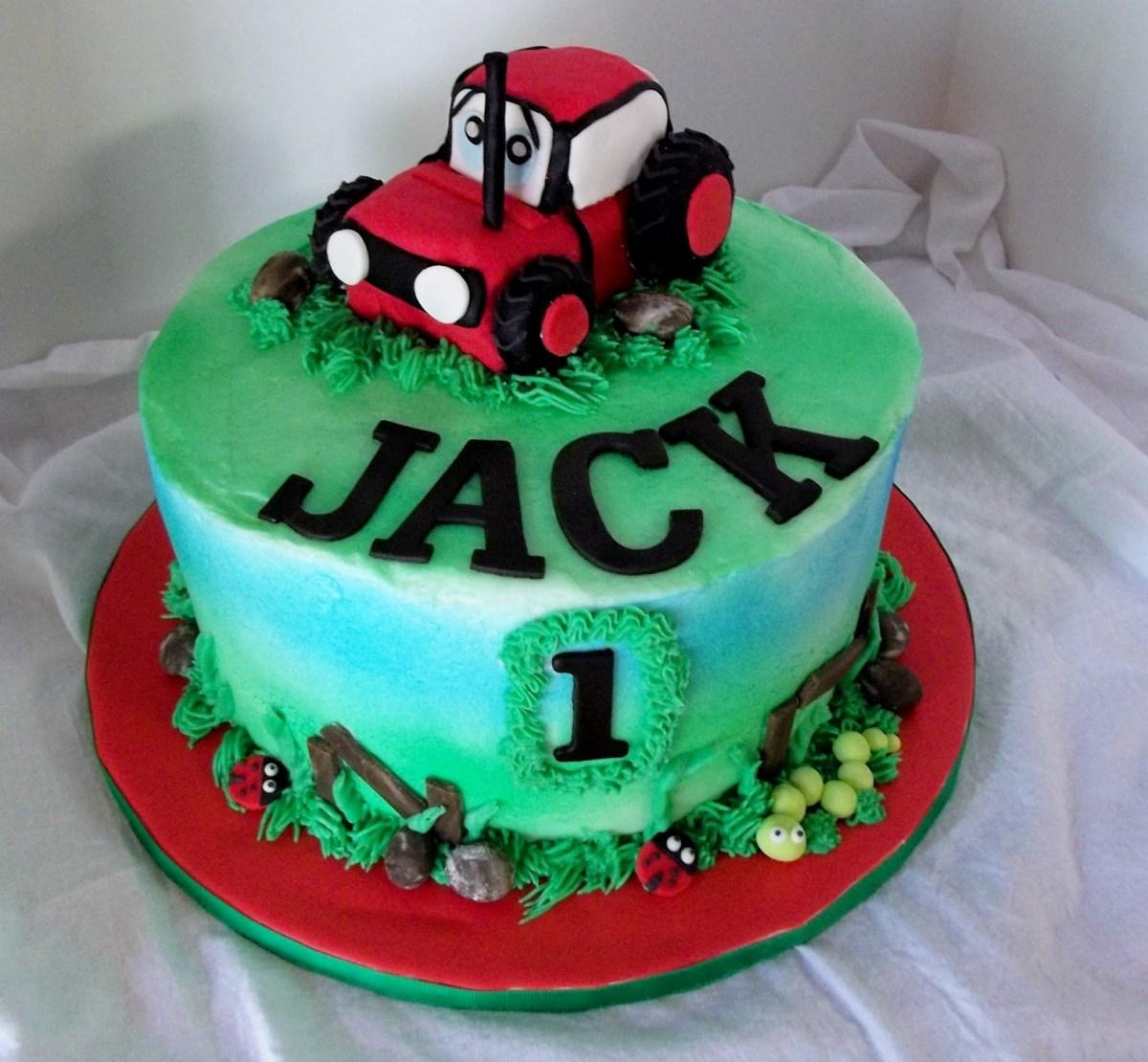 Astounding Tractor Birthday Cakes Tractor Birthday Cakes Farmer Impressive Personalised Birthday Cards Beptaeletsinfo