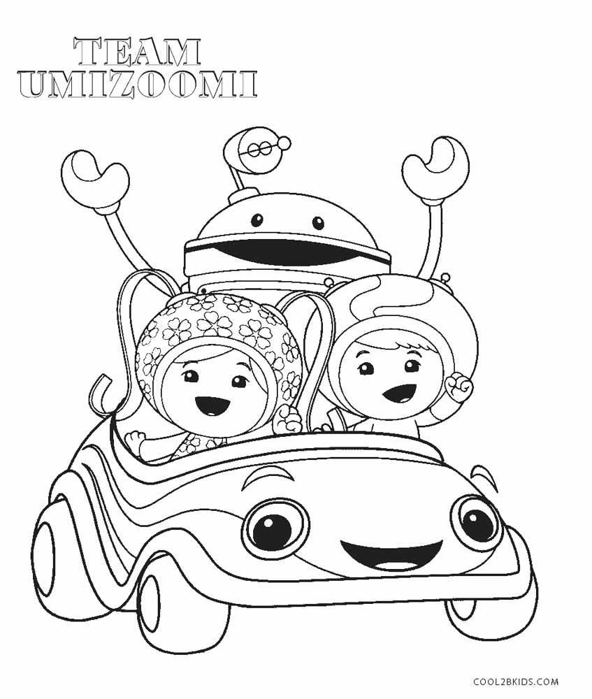 Umizoomi Coloring Pages Free Printable Team Umizoomi Coloring Pages ...