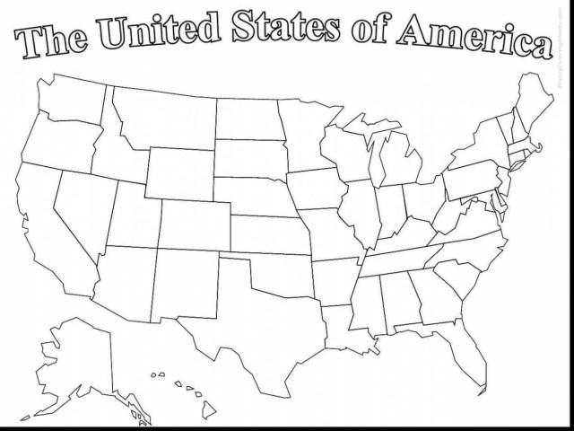 21 Amazing Picture Of Us Map Coloring Page Birijuscom - Us-map-coloring-page