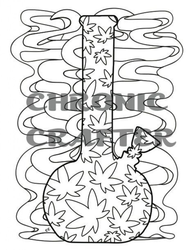 Weed Coloring Pages Cannabis Coloring Book Pages Inspirational Printable Page For