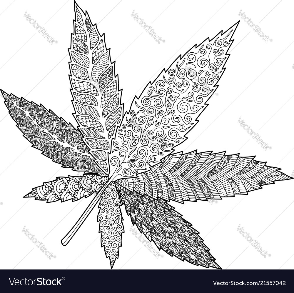 Trippy Weed coloring page | Free Printable Coloring Pages | 996x1000