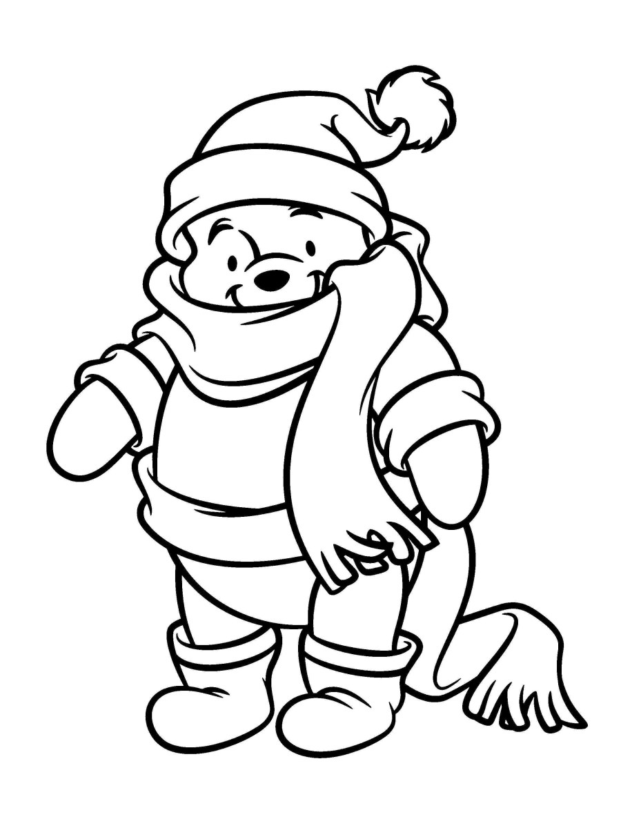 Winnie The Pooh Coloring Pages Free Winnie The Pooh Coloring