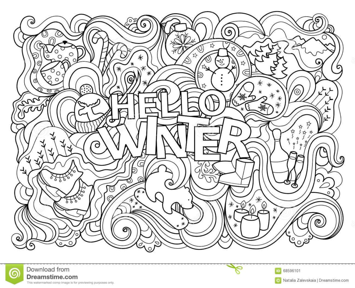 Free Winter Coloring Pages | Coloring Page | Christmas coloring ... | 975x1200