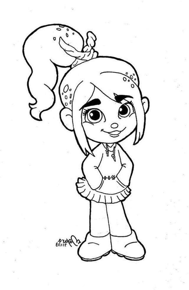 Wreck It Ralph Coloring Pages Fix It Felix Coloring Pages