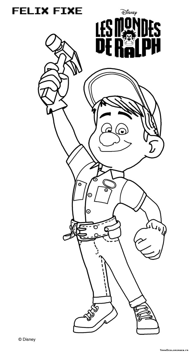 Wreck It Ralph Coloring Pages Wreck It Ralph Coloring Pages 99 Ralph And Vanellope Coloring