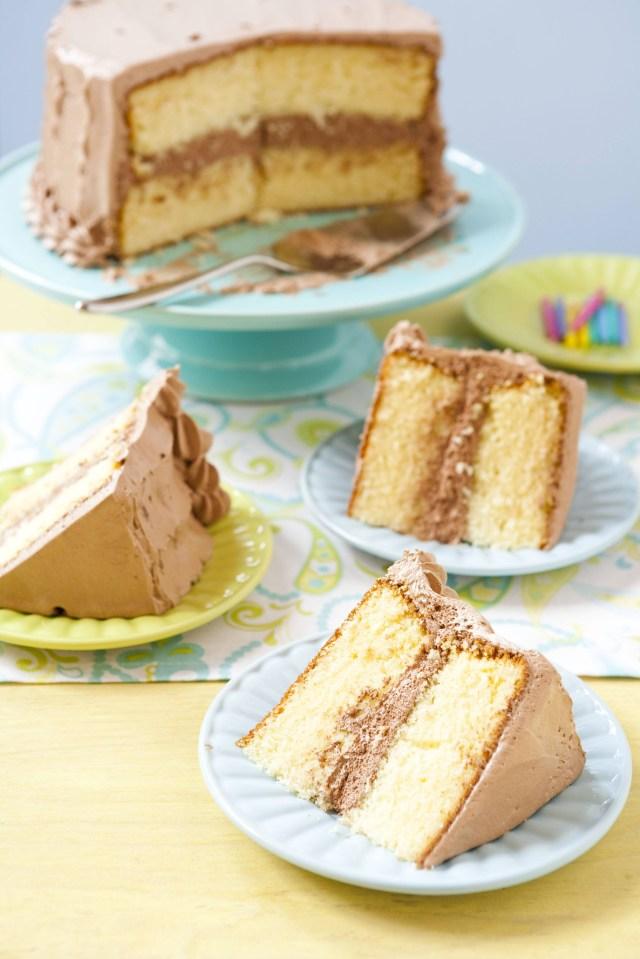 Yellow Birthday Cake Flour Bakerys Yellow Birthday Cake Recipe Yasmin Fahr
