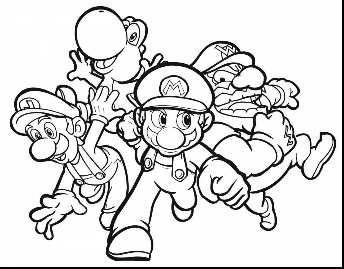 Yoshi Coloring Pages 49 New Ideas For Mario And Yoshi Coloring Pages To Print Coloring