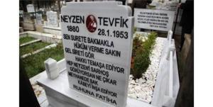 Neyzen Tevfik'in Mezarı