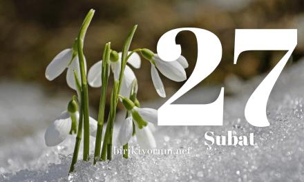 27 Şubat