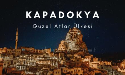 Kapadokya, Güzel Atlar Ülkesi
