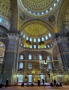 Sultanahmet Cami Çini Örnekleri