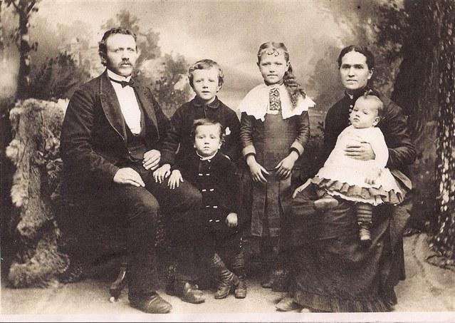 AP Winsor II and Sarah Alydia Terry Winsor, 1886
