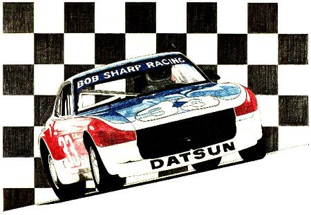 Bob Sharp Racing Datsun