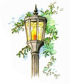 Embassy Club Lamp Posts