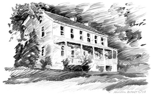 Farmhouse Pencil Study