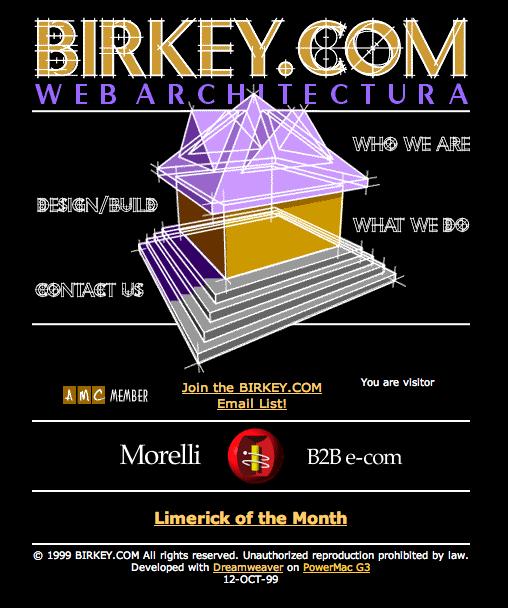 BIRKEY.COM in 1999