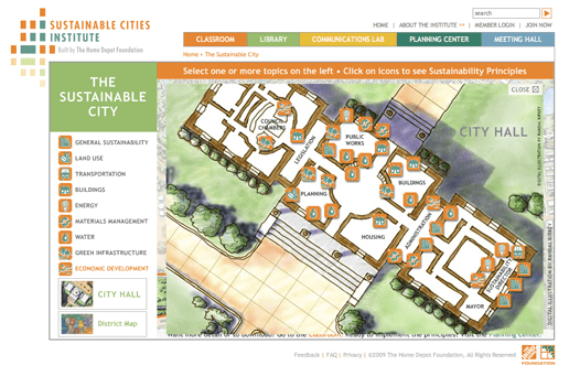 Sustainable City - City Hall Floor Plan