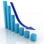 downward trend