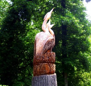 Roebuck Springs, AL wood carving
