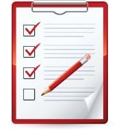 Real Estate Appraiser Checklist