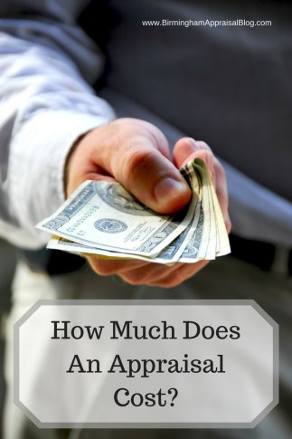 How much does an appraisal cost