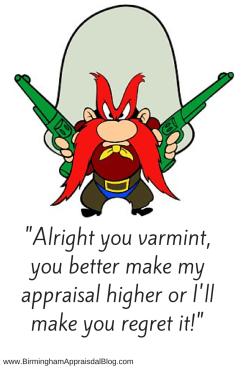 Appraisal value reconsideration
