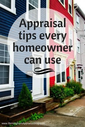 Appraisal tips