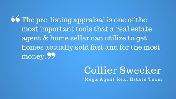 Collier Swecker talks about pre-listing appraisals