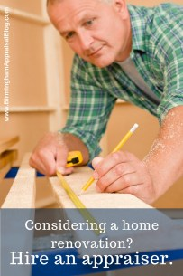 appraiser and home renovation