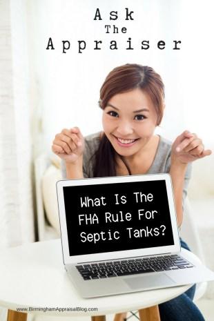 Septic Tank FHA Rule