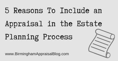 appraisals and estate planning