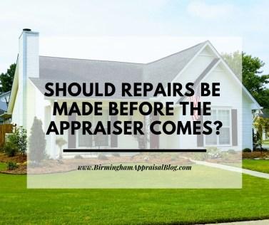 appraisal repairs