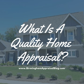 Alabaster Home Appraisal