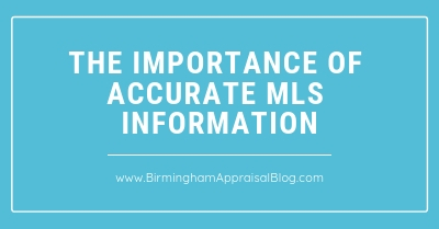 The Importance Of Accurate MLS Information