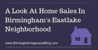 Home Sales In Birmingham's Eastlake Neighborhood
