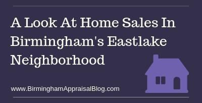 Home Sales In Birmingham's Eastlake Neighborhood