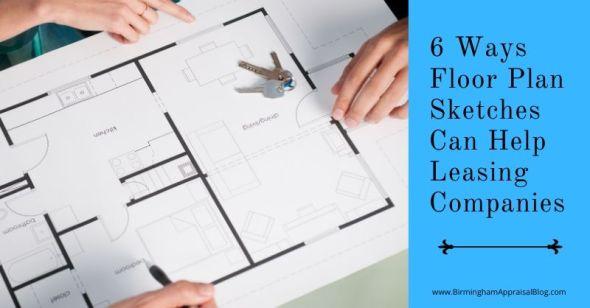 Ways Floor Plan Sketches Can Help Leasing Companies