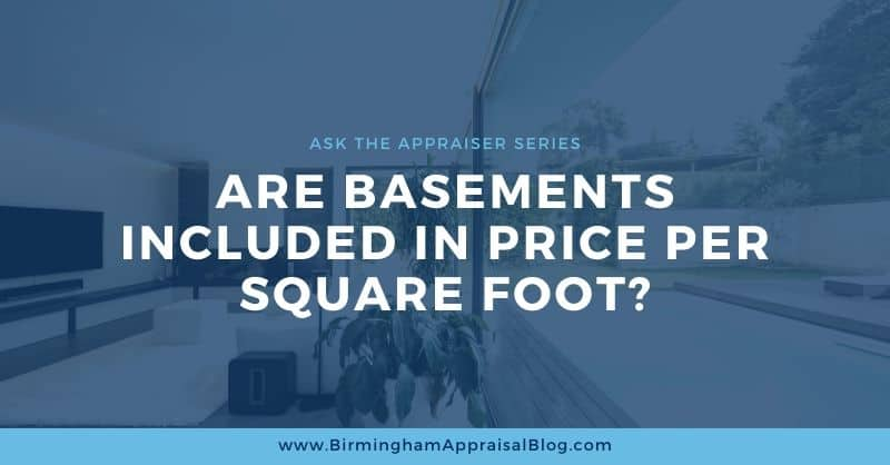 Are Basements Included In Price Per Square Foot_