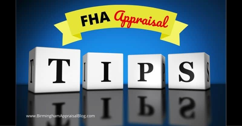 Tips For FHA Appraisals