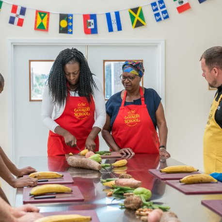 Tan Rosie Caribbean Cookery School – 3 Island Tour