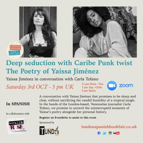 The poetry of Yaissa Jiménez: Deep seduction with Caribe Punk twist