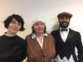 Rowan, Liz & Vik
